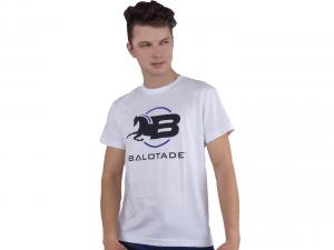 Koszulka Balotade® model Classic. Tradycyjny T-shirt z eleganckim motywem jeździeckim.