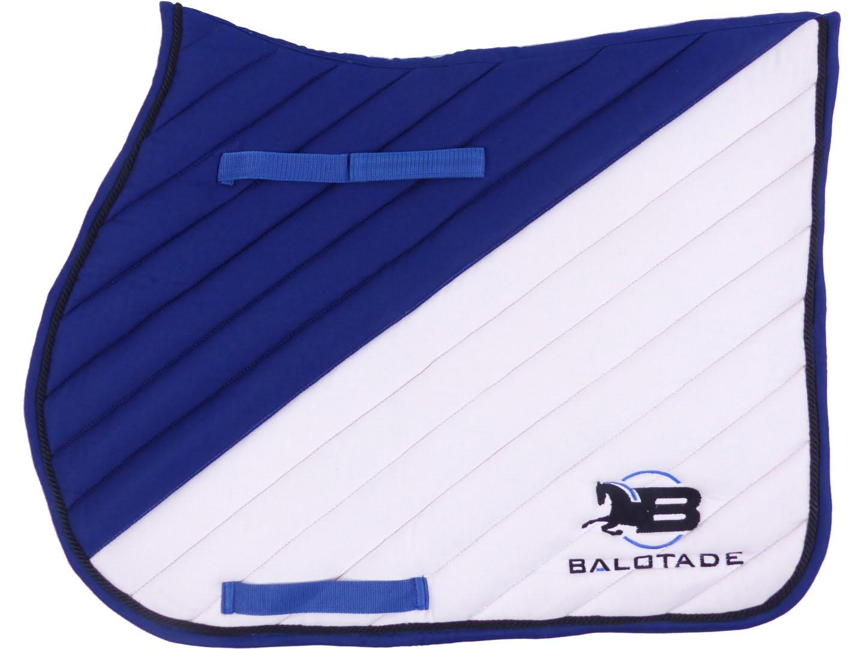 Czaprak Balotade Avero niebiesko-biały